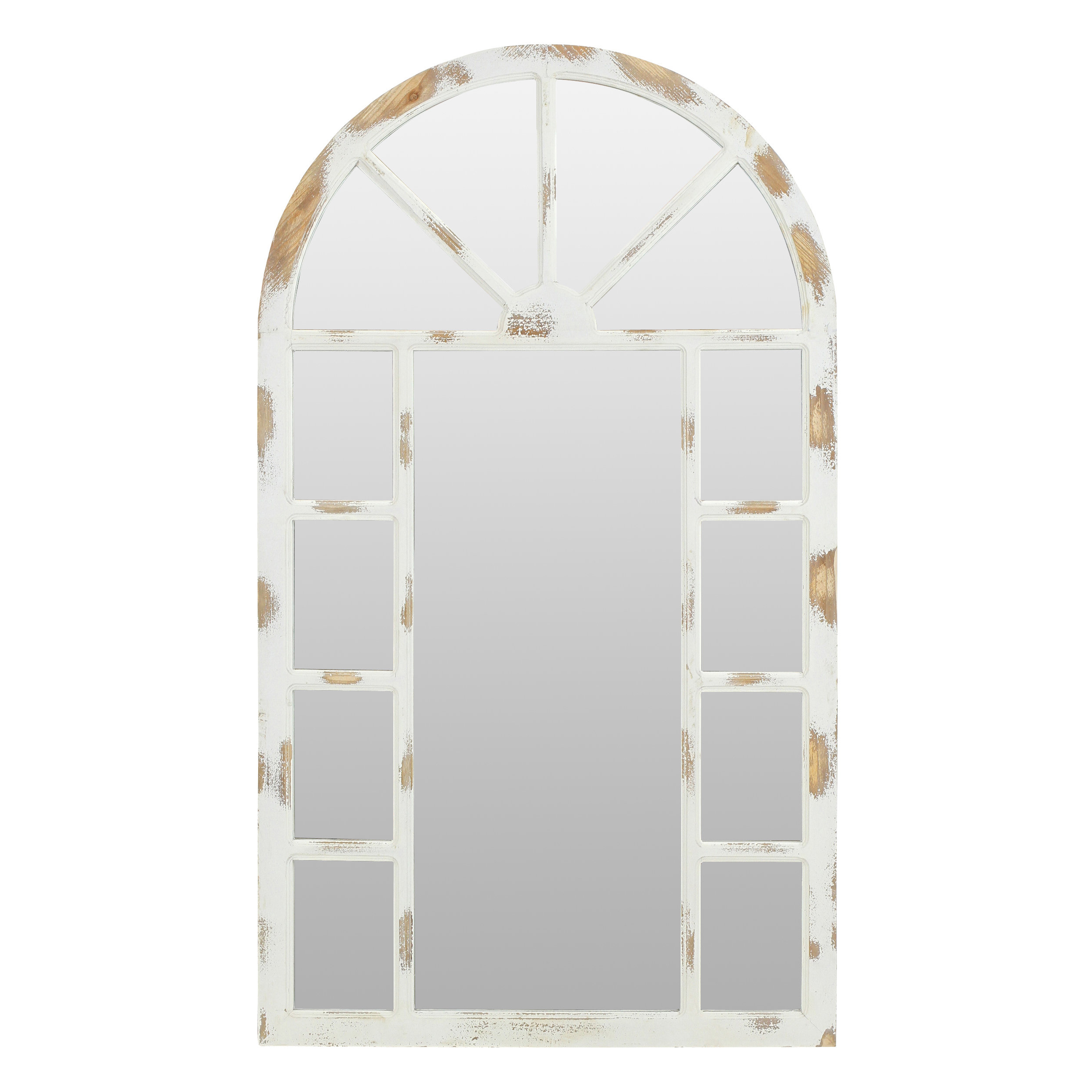 Kirwan Farmhouse Arch Wall Mirror With Preferred Arch Wall Mirrors (View 13 of 20)