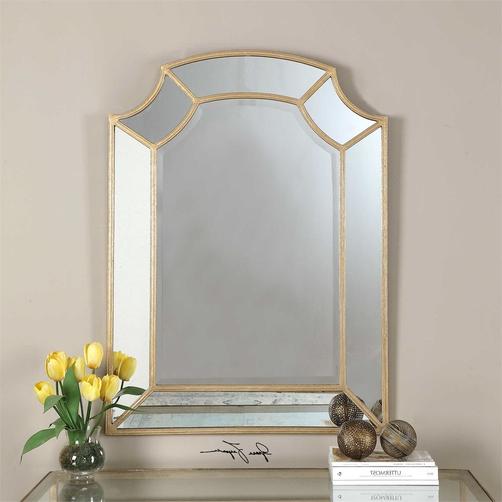 Knell Home Pertaining To Favorite Gold Arch Wall Mirrors (View 18 of 20)