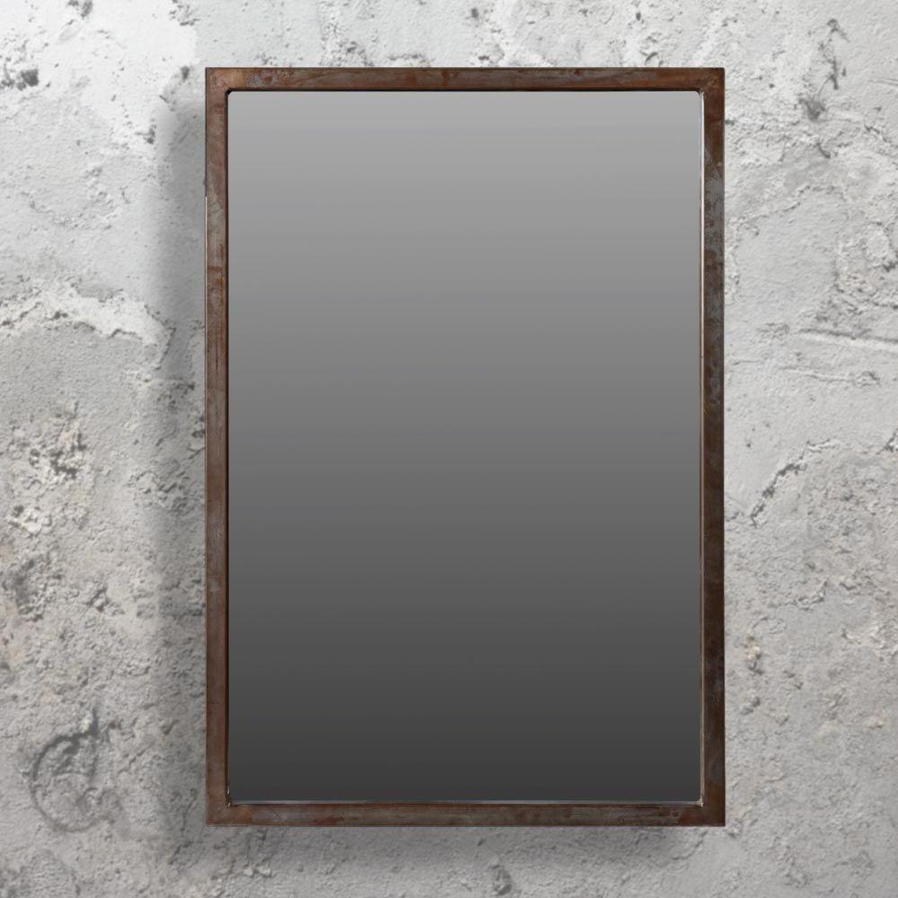 Koeller Industrial Metal Wall Mirrors Intended For Fashionable Large Industrial Wall Mirror Cl 33678 (Gallery 3 of 20)