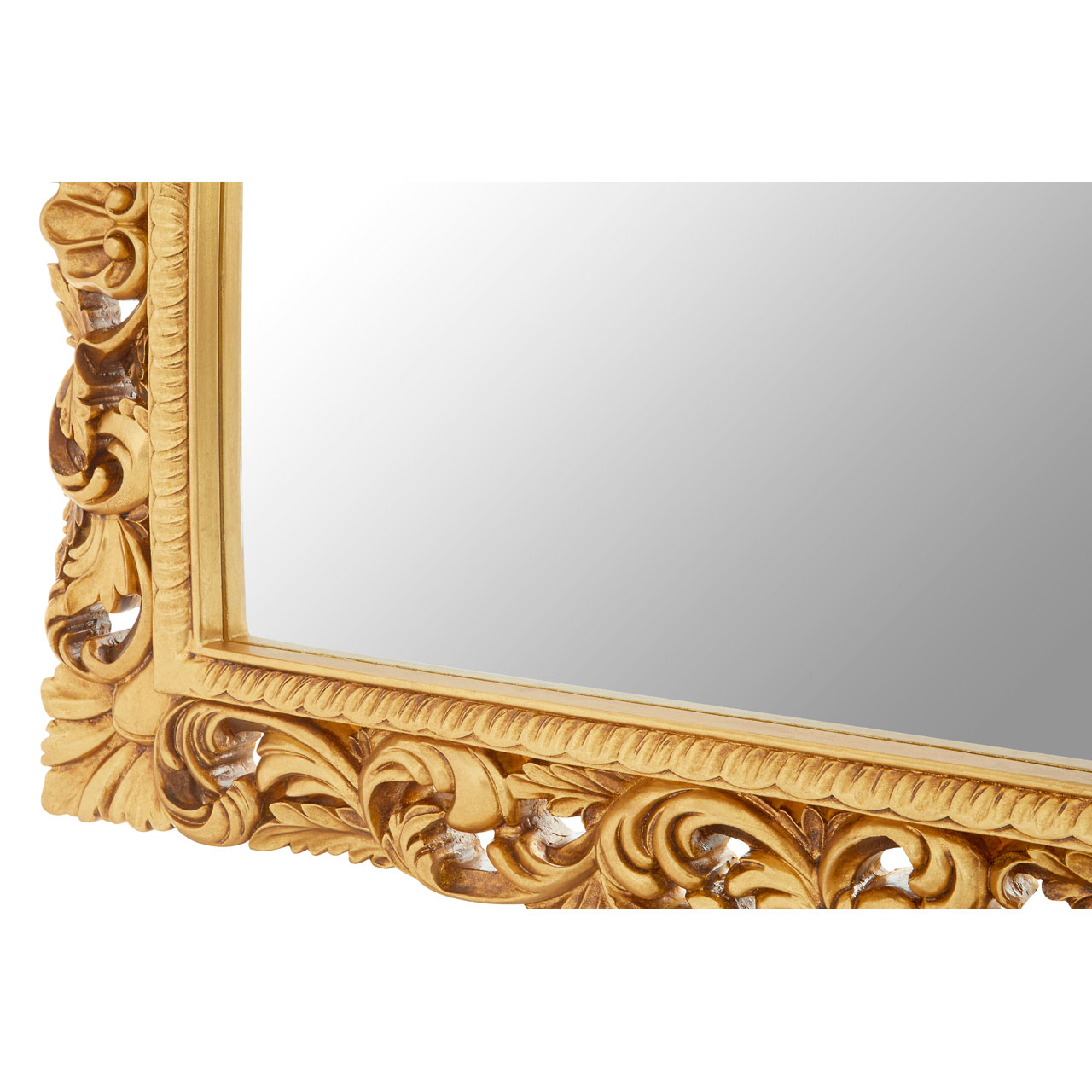 Landscape Wall Mirrors With Trendy Cannes Gold Landscape Wall Mirror (View 9 of 20)