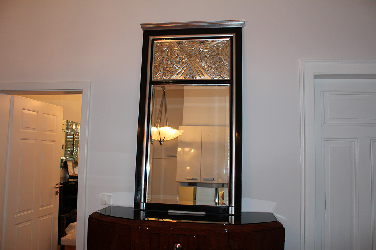 Large Art Deco Wall Mirrors For Most Popular Large Wall Mirror (View 16 of 20)