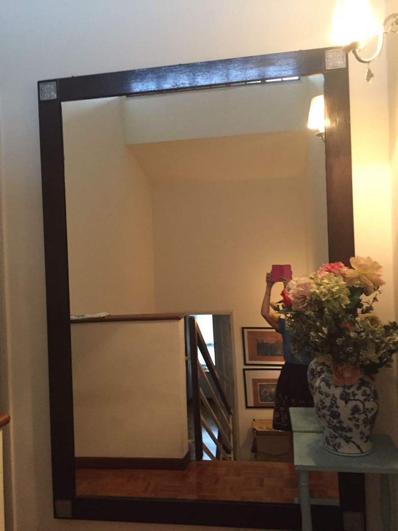 Large Asian Style Wooden Mirror In Current Asian Style Wall Mirrors (Gallery 15 of 20)