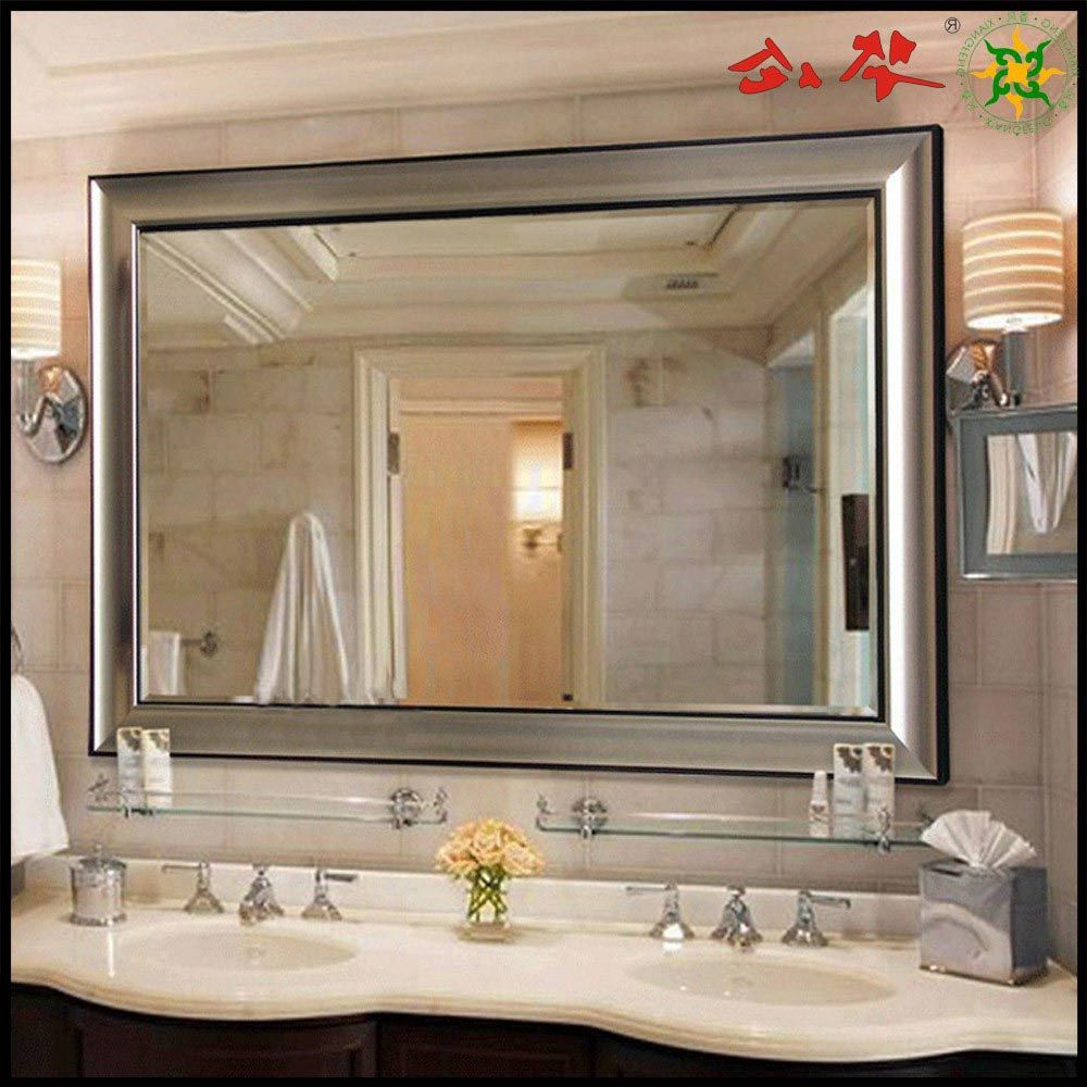 Large Bathroom Mirrors Intended For 2019 Large Wall Mirrors For Cheap (Gallery 16 of 20)