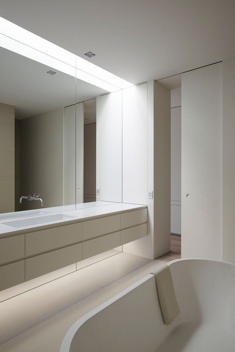 Large Bathroom Wall Mirrors Regarding Popular Bathroom – Davis Avenue Project In Melbourne Australiajolson (View 2 of 20)