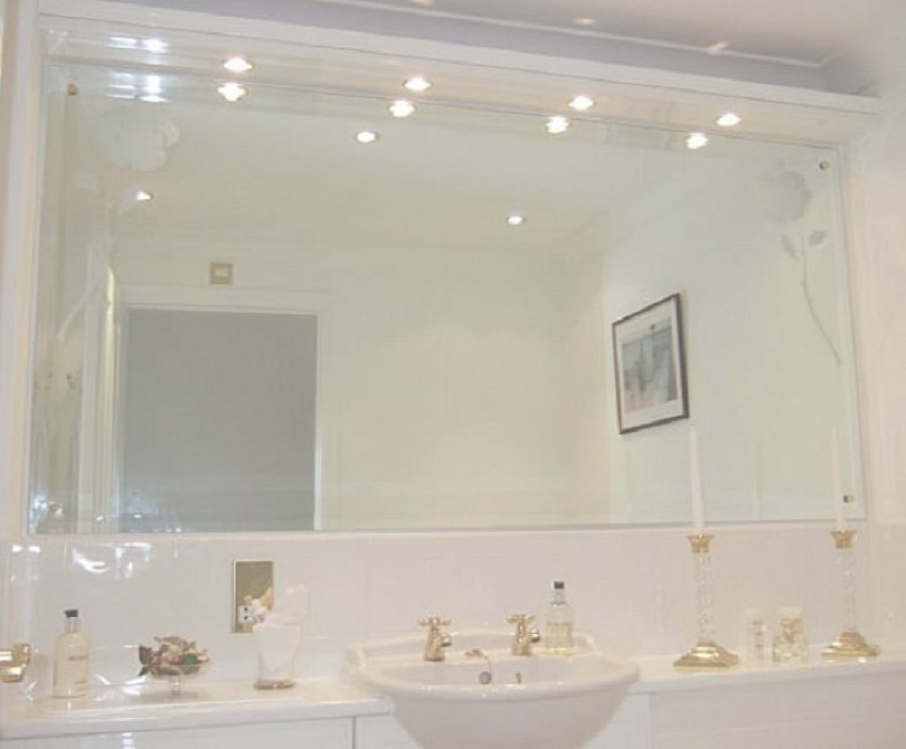 Large Bathroom Wall Mirrors Throughout Trendy Epic Bathroom : Large Bathroom Wall Mirror Design Newlarge (View 9 of 20)