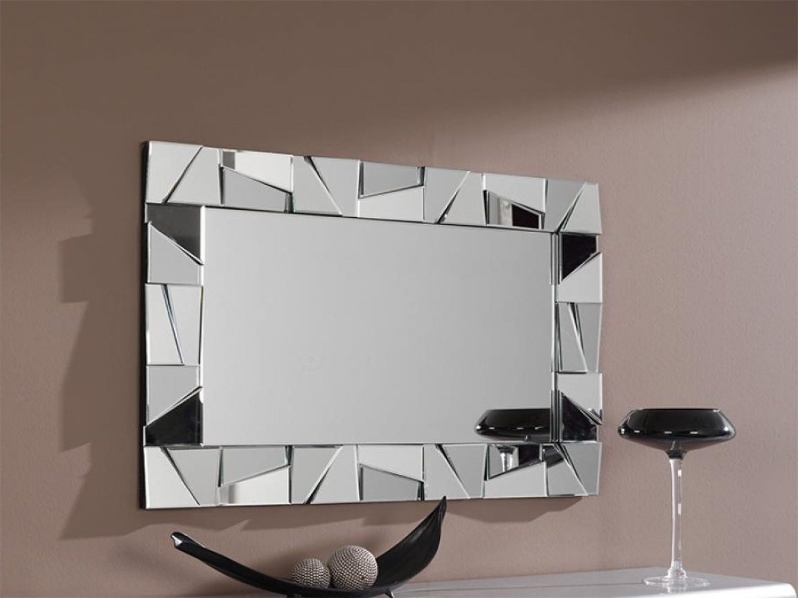 Large Contemporary Wall Mirrors With Fashionable Modern Bathroom Wall Mirrors, Metal Artwork Modern Wall Decor Large (Gallery 17 of 20)