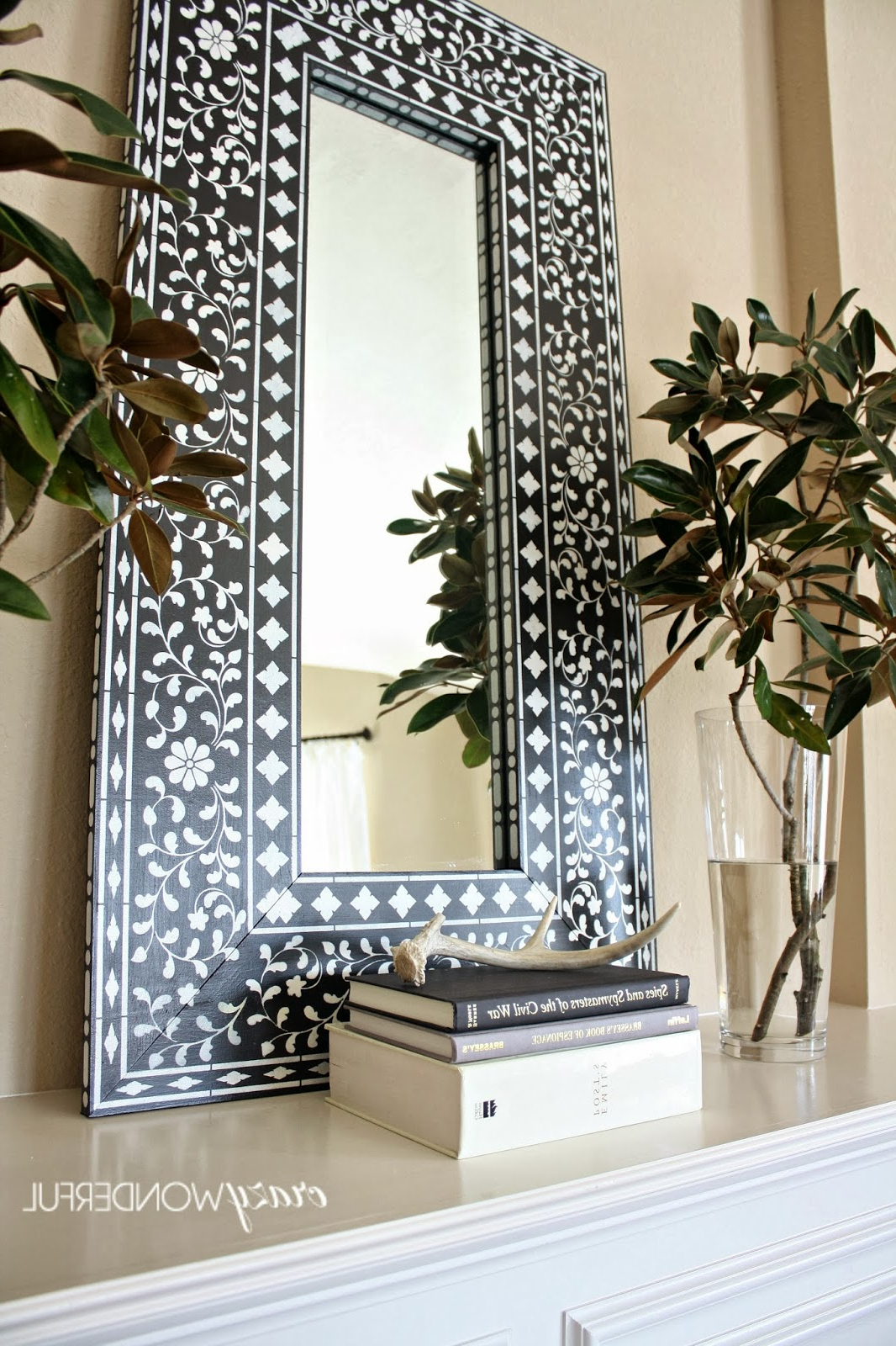 Large Fancy Wall Mirrors Inside Famous Big Mirror For Living Room Home Design Ideas And Pictures Mirrors (View 17 of 20)