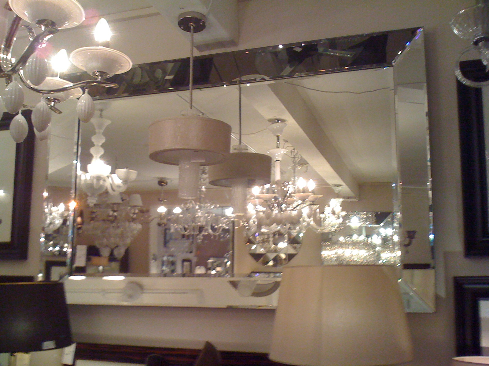 Large Glass Bevelled Wall Mirrors With Regard To Trendy Hervorragend Beveled Wall Mirrors For Extra Sri Large Garden Set (View 16 of 20)