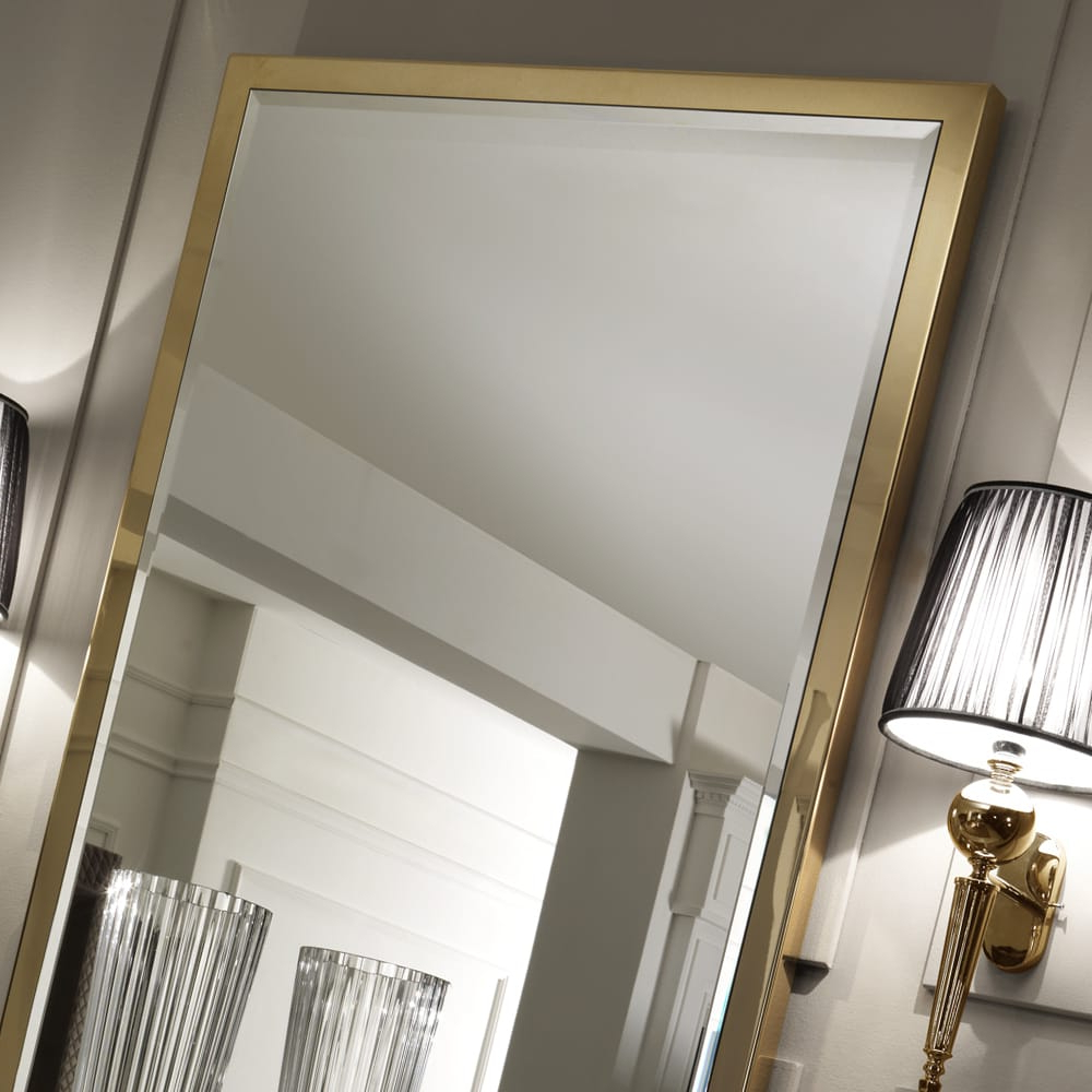 Large Gold Italian Wall Mirror With Well Known Italian Wall Mirrors (Gallery 10 of 20)