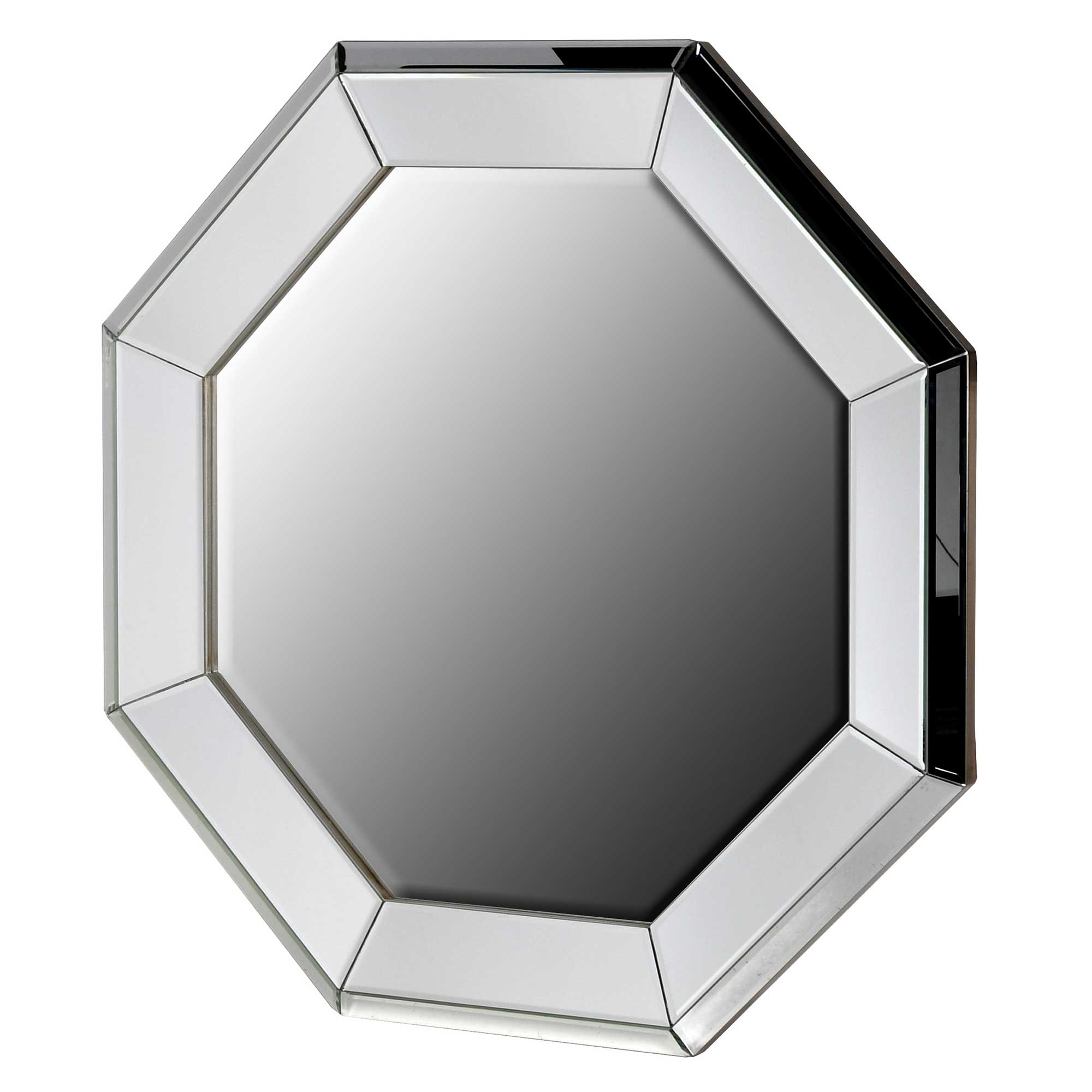 Large Octagon Wall Mirror, Glass (View 2 of 20)