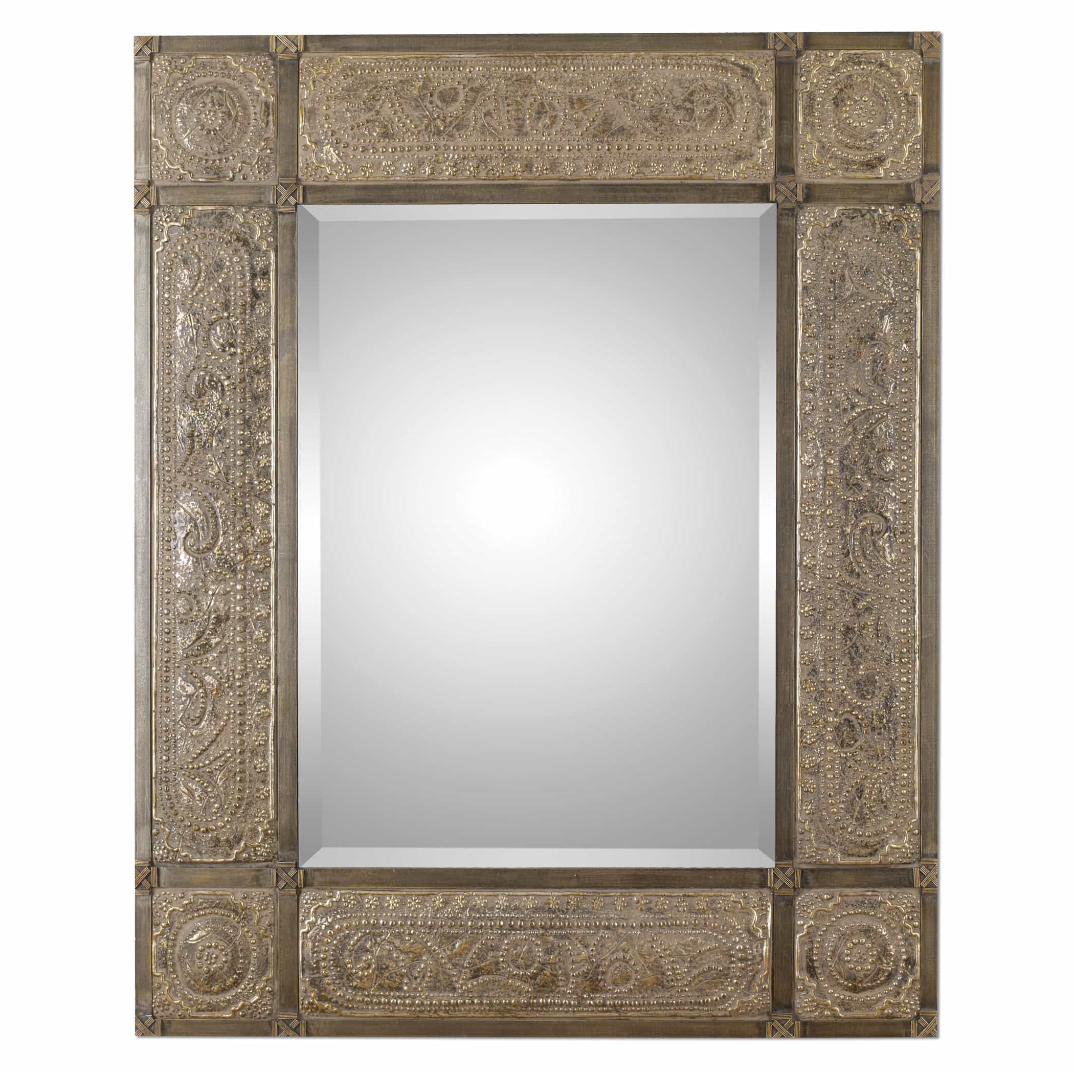 Large Ornate Wall Mirrors Inside Favorite Harvest Serenity Large Ornate Mirroruttermost – 50″ X 60″ (View 16 of 20)