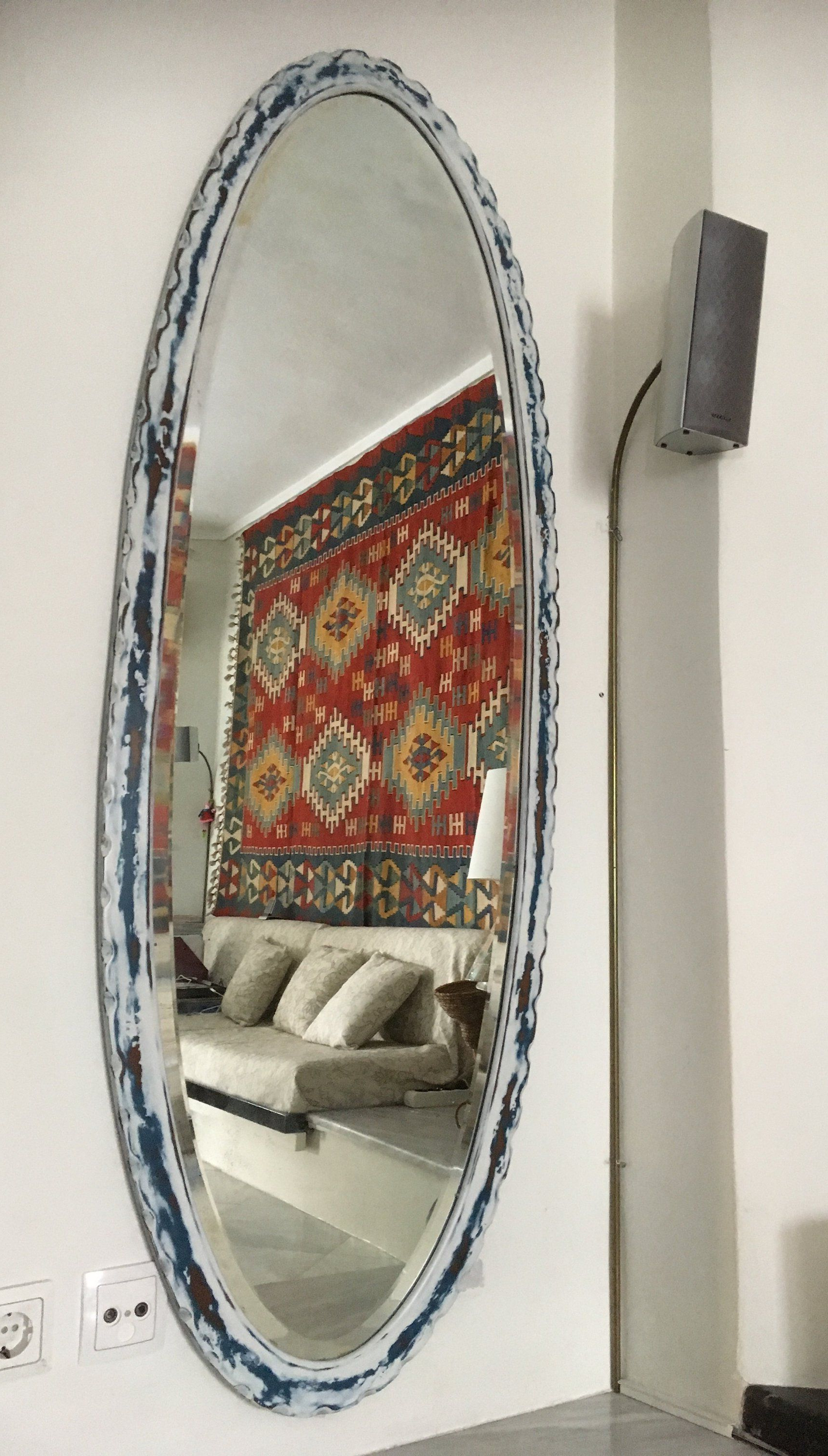 Large Oval Wall Mirror For Large Oval Wall Mirrors (Gallery 5 of 20)
