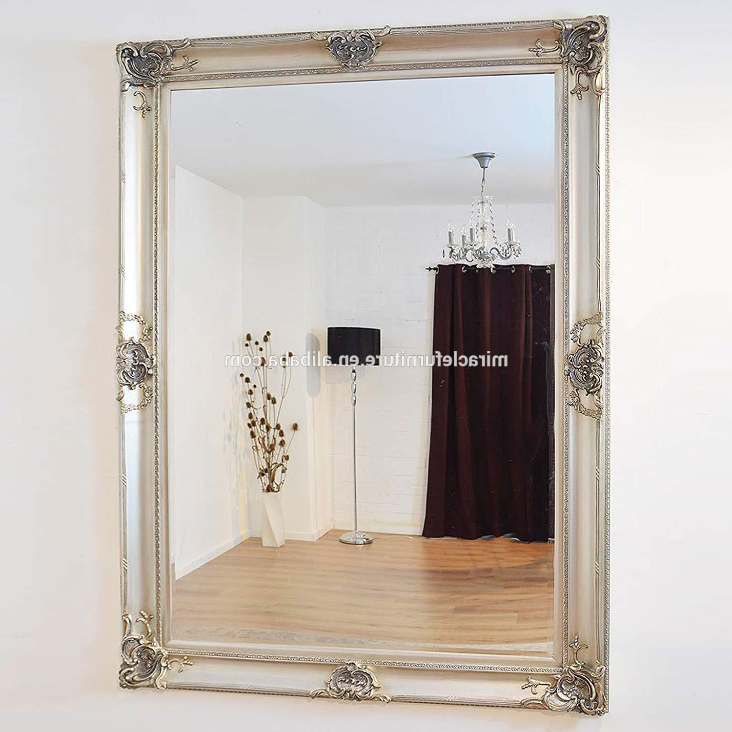 Large Silver Decorative Ornate Pu Resin Frame Unique Wall Mirror – Buy  Resin Frame Wall Mirror Decorative,unique Wall Mirrors Decorative,hotel  Project With Regard To Recent Unique Wall Mirrors (Gallery 5 of 20)