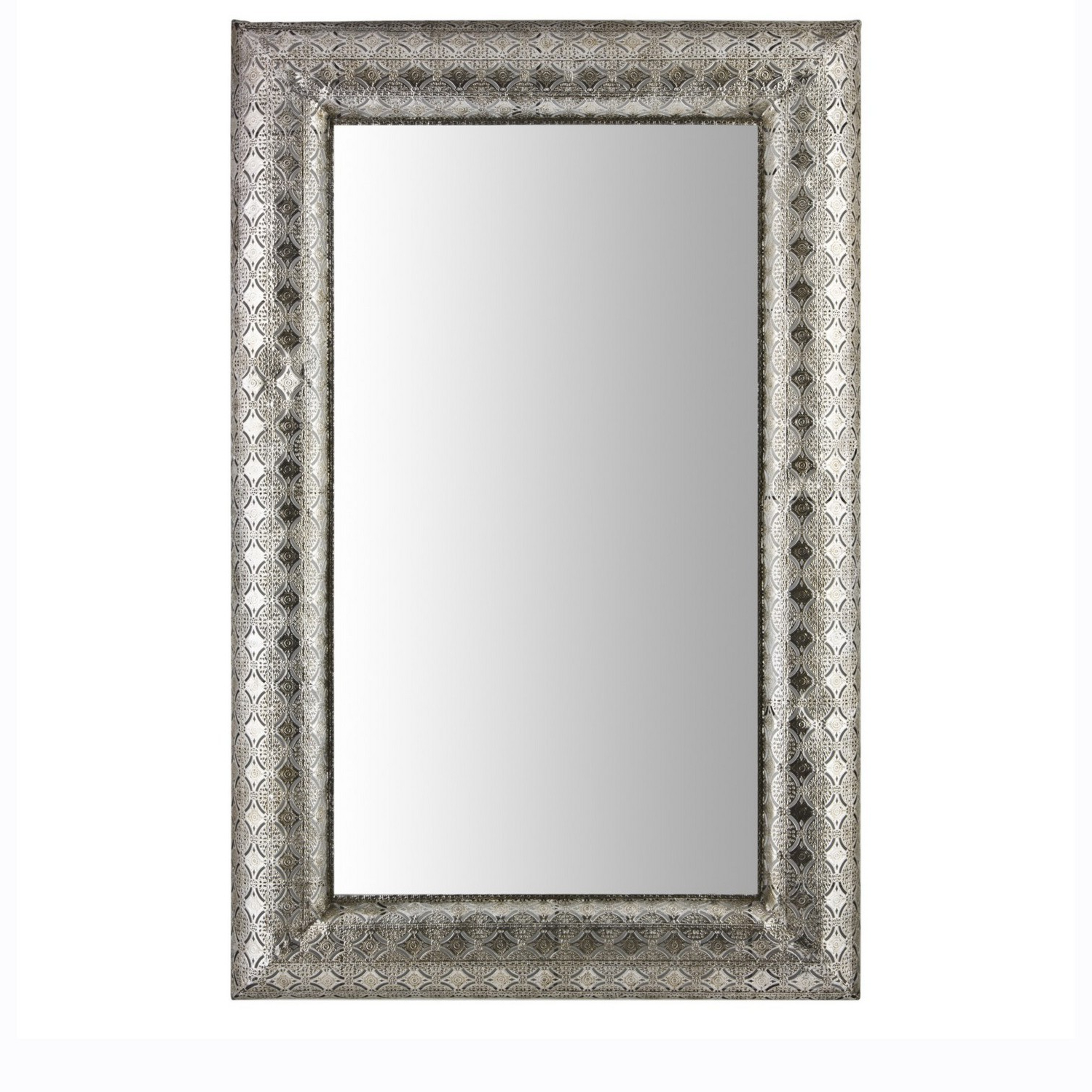 Large Silver Wall Mirrors Throughout Fashionable Mirrors (View 9 of 20)