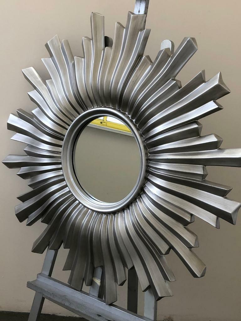 Large Starburst Wall Mirror (Gallery 11 of 20)