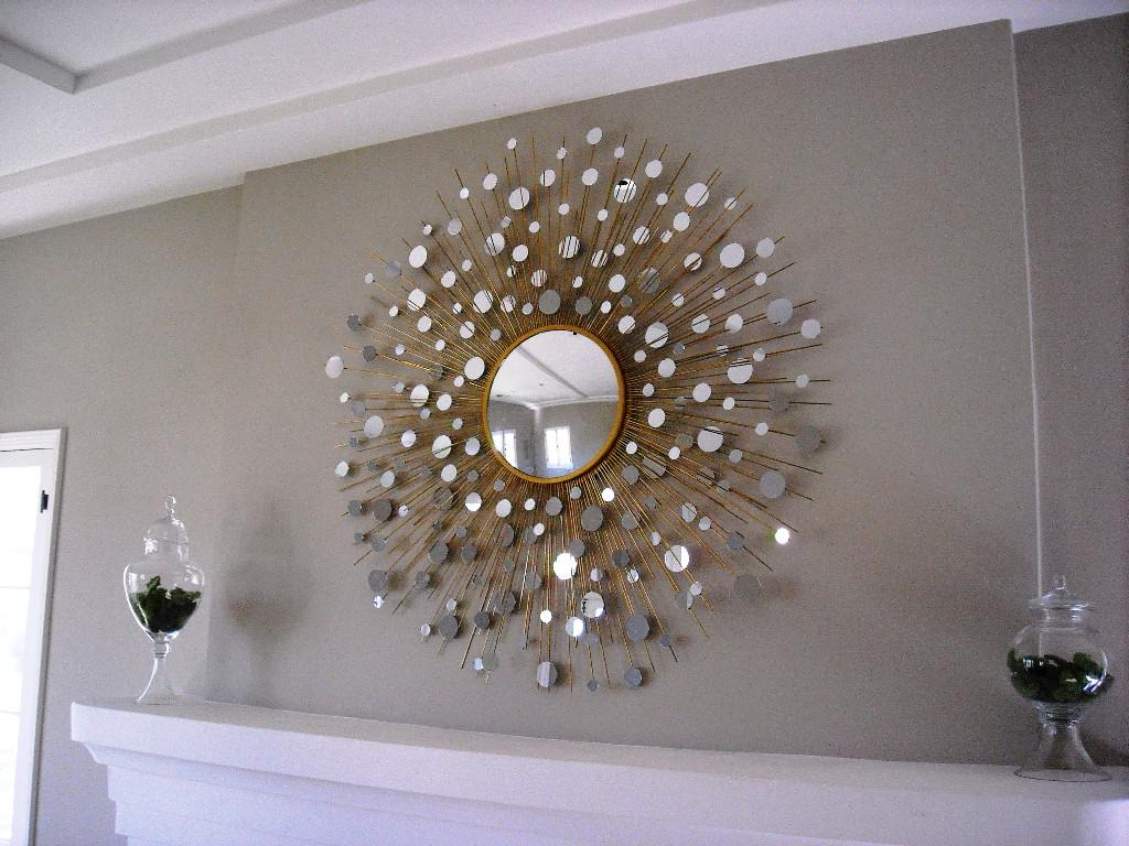 Large Sunburst Wall Mirrors With Regard To Most Up To Date Sunburst Wall Mirrors Decorative Home Designs Insight Large Silver (Gallery 5 of 20)