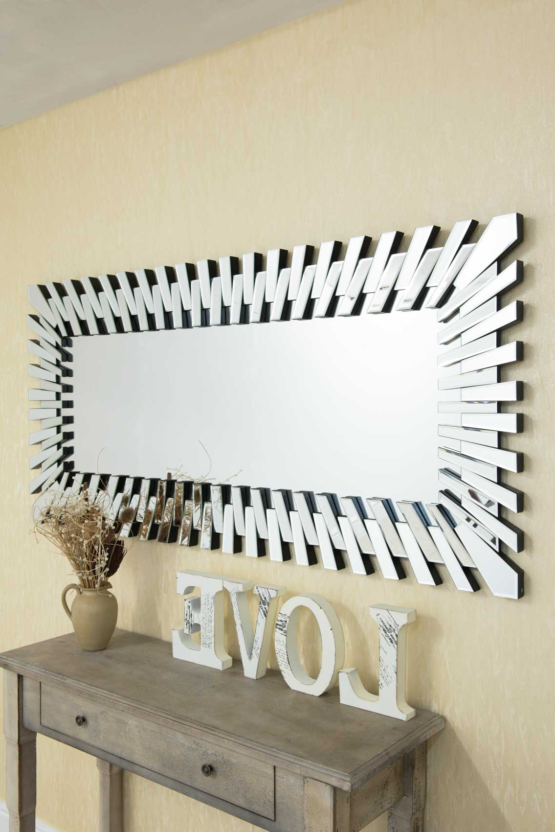 Large Sunburst Wall Mirrors With Regard To Well Known Large Full Length Sunburst Mirror 170x80cm (View 15 of 20)