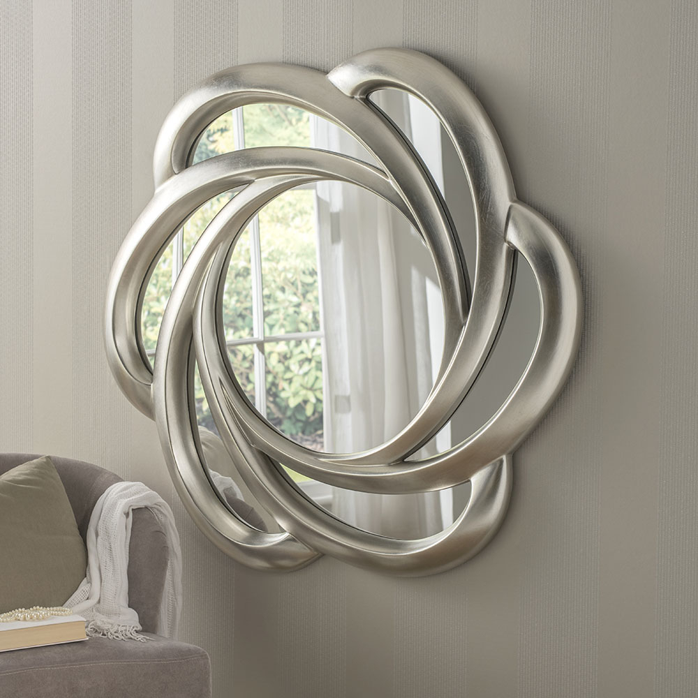 Large Swirl Wall Mirror With Regard To Newest Swirl Wall Mirrors (Gallery 1 of 20)