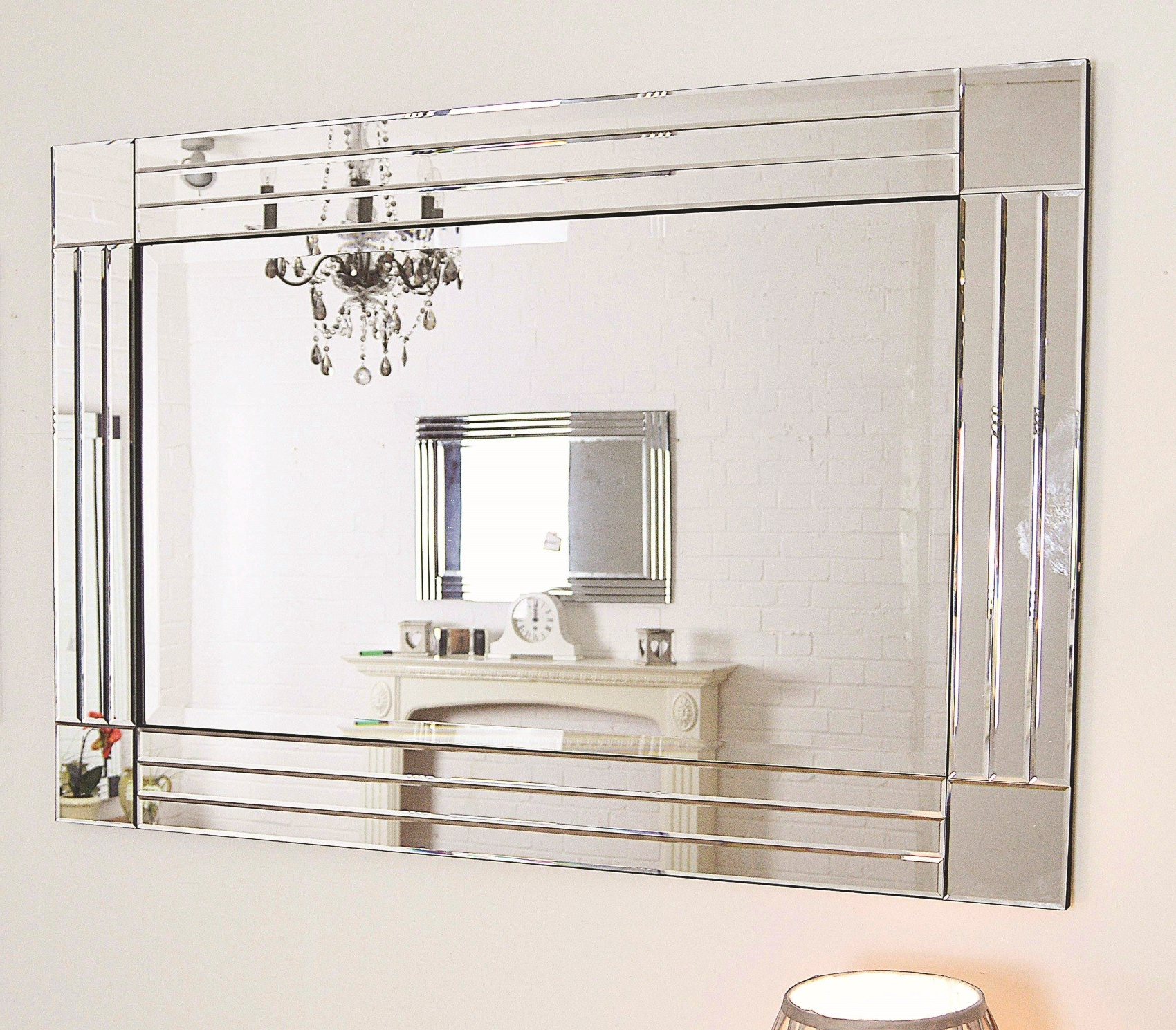 Large Wall Mirrors For Cheap – Large Wall Mirrors For Wider And Inside Fashionable Inexpensive Large Wall Mirrors (View 13 of 20)