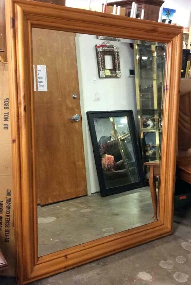 Large Wall Mirrors With Wood Frame Pertaining To 2020 Wooden Framed Wall Mirrors Large Frame Mirror – Jinevijoya (View 9 of 20)