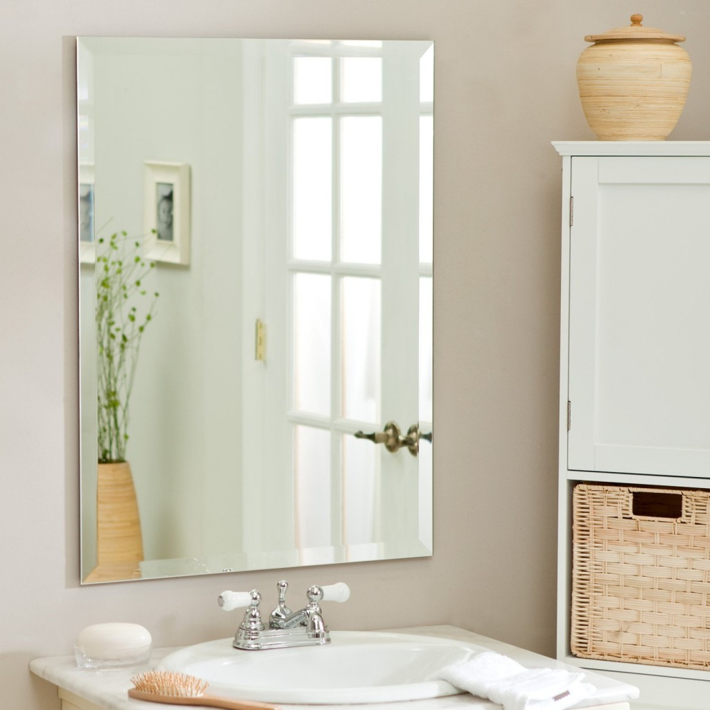 Large Wall Mirrors Without Frame Throughout Preferred 34 Most Unbeatable Frameless Rectangular Mirror Large Wall Mirrors (Gallery 1 of 20)