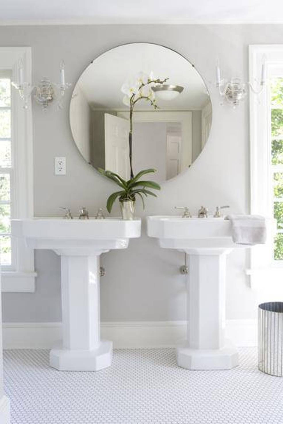 Large Wall Mirrors Without Frame Within Most Up To Date Large Round Mirror Without Frame – Mirror Decorating Ideas (Gallery 12 of 20)