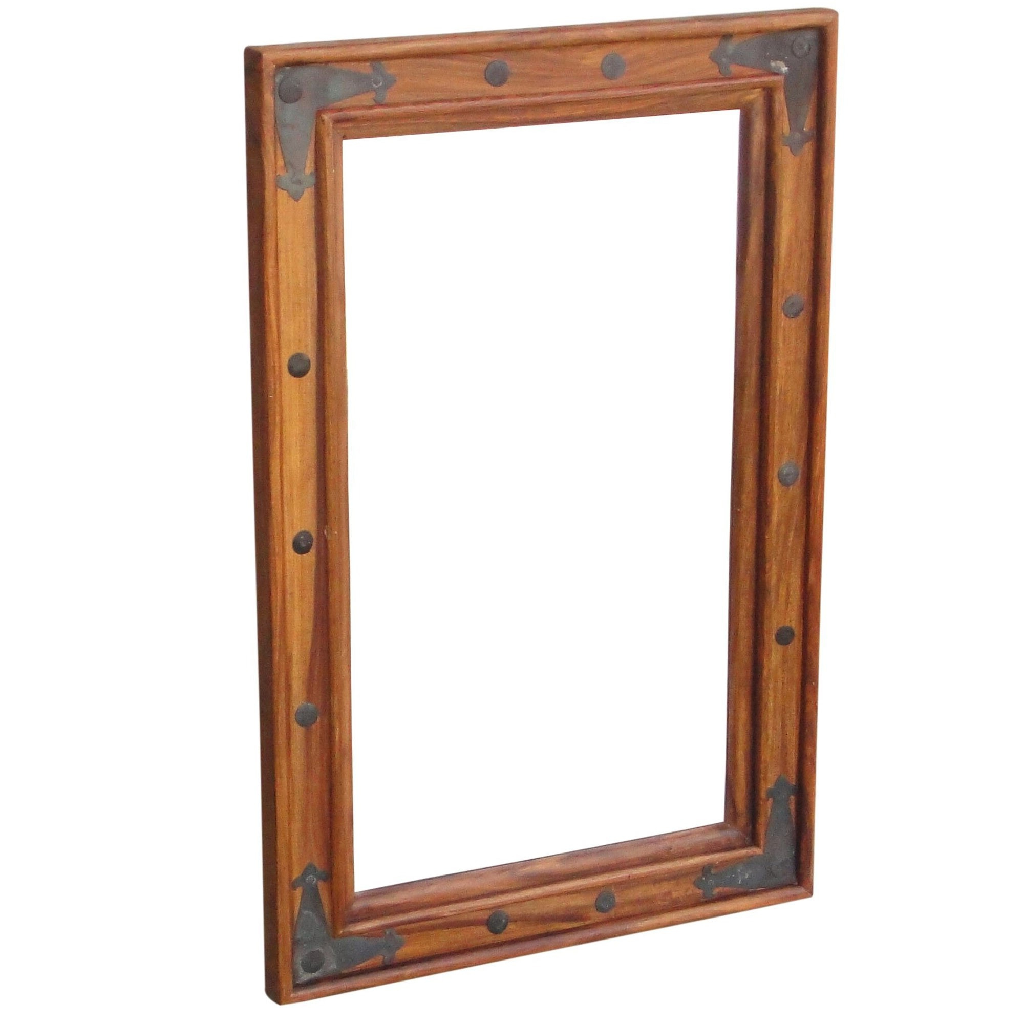 Large Wooden Wall Mirrors Throughout Favorite Ganga Wooden Mirror (View 15 of 20)