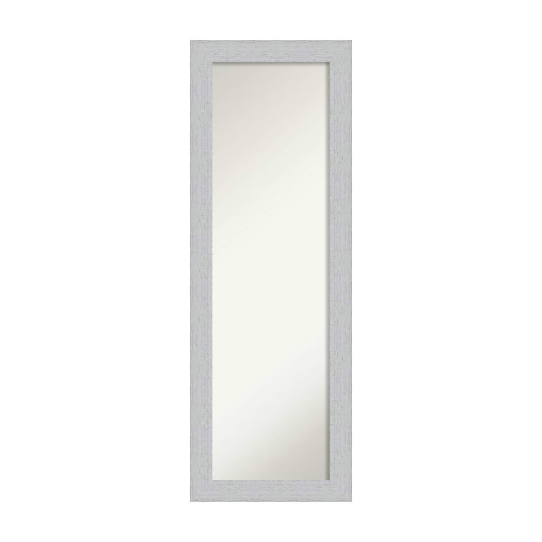 Latest Amazon: Amanti Art On The Door Full Length Wall Mirror, Shiplap Regarding Full Size Wall Mirrors (Gallery 1 of 20)
