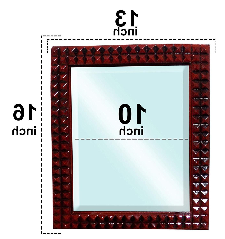 Latest Buy Majik Makeup Mirror, Dressing Mirror, Bedroom Mirror, Bathroom Regarding Fancy Wall Mirrors (Gallery 16 of 20)