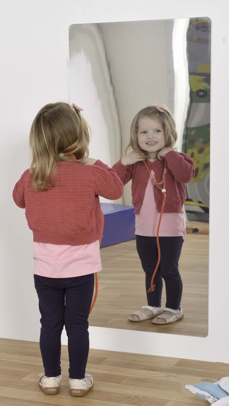 Latest Children Wall Mirrors In Kid Safe Wall Mirror – Robinsonnetwork (View 5 of 20)