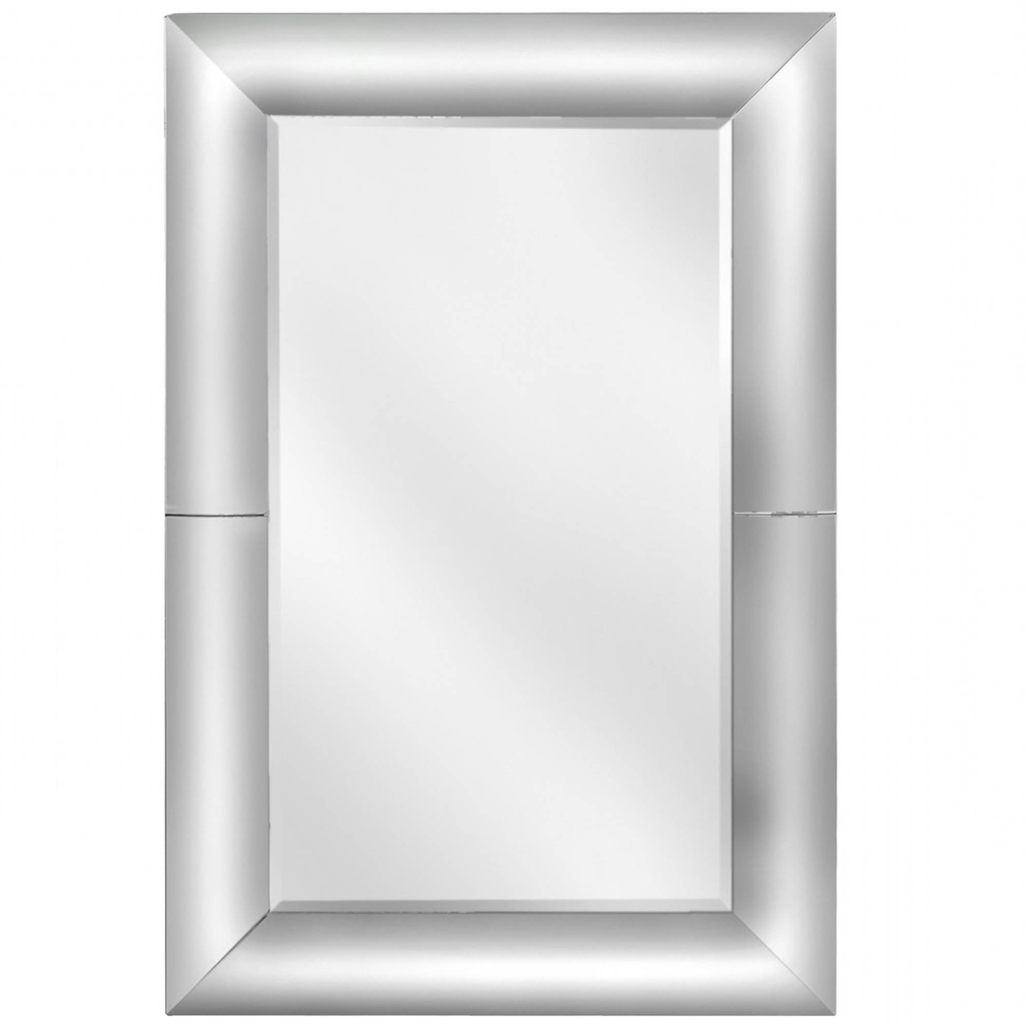 Latest Concave Wall Mirrors Pertaining To Clear Rectangular Rounded Wall Mirror (View 19 of 20)