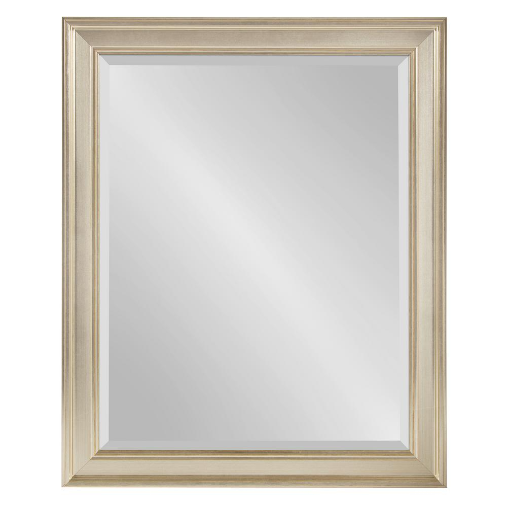 Latest Corrigan Rectangle Silver Wall Mirror In Silver Wall Mirrors (View 15 of 20)
