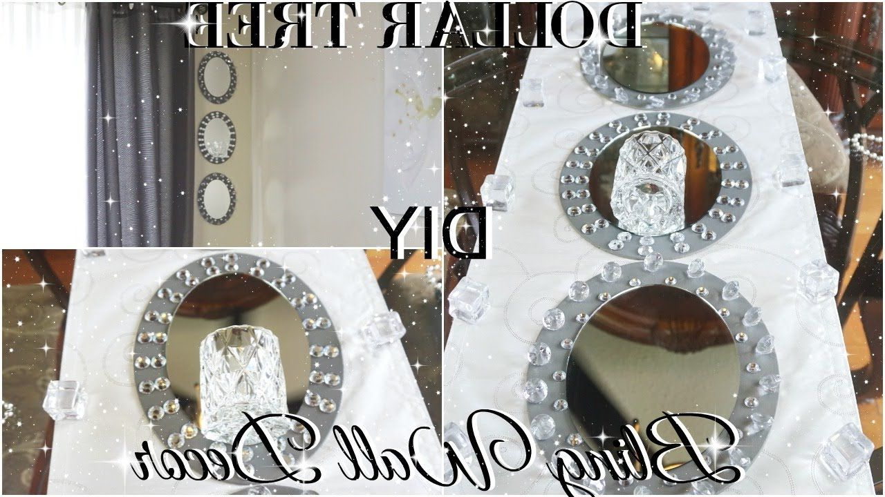 Latest Diy Dollar Tree Glam Mirror Wall Sconce (Gallery 15 of 20)