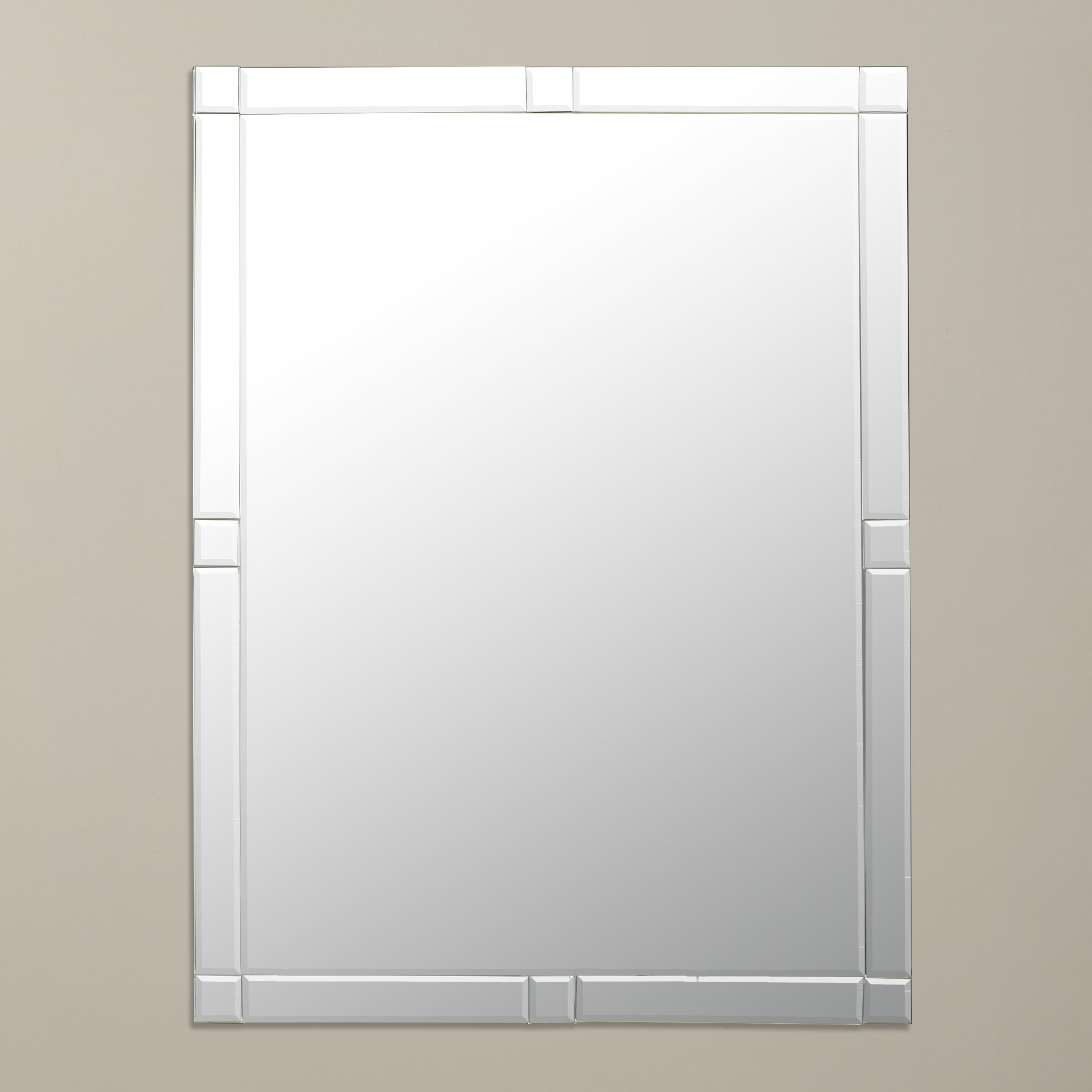 Latest Frameless Wall Mirror Pertaining To Logan Frameless Wall Mirrors (View 4 of 20)