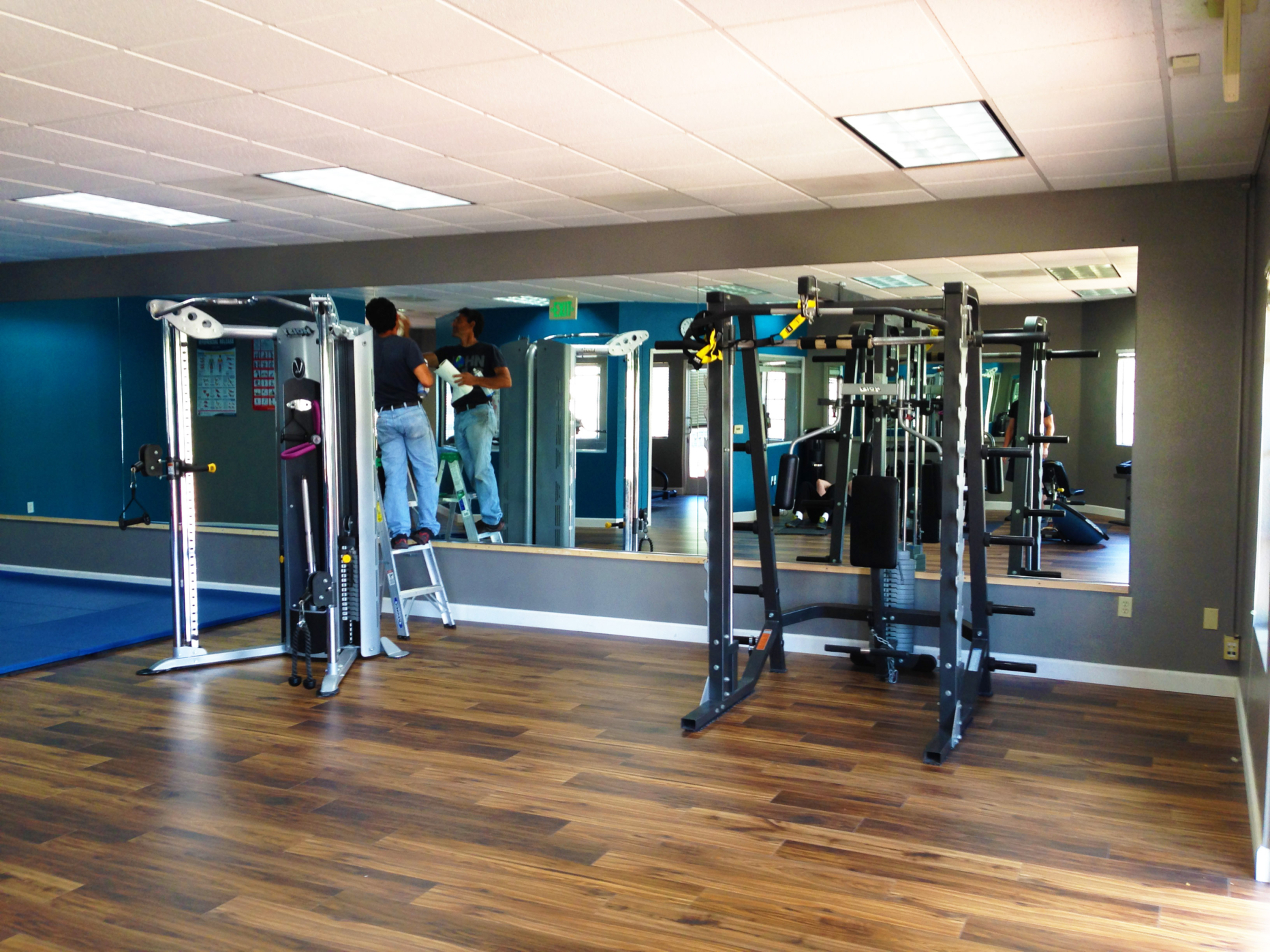 Latest Gym Full Wall Mirrors With Regard To Gym Mirrors – Nick's Glass And Mirrors (View 2 of 20)