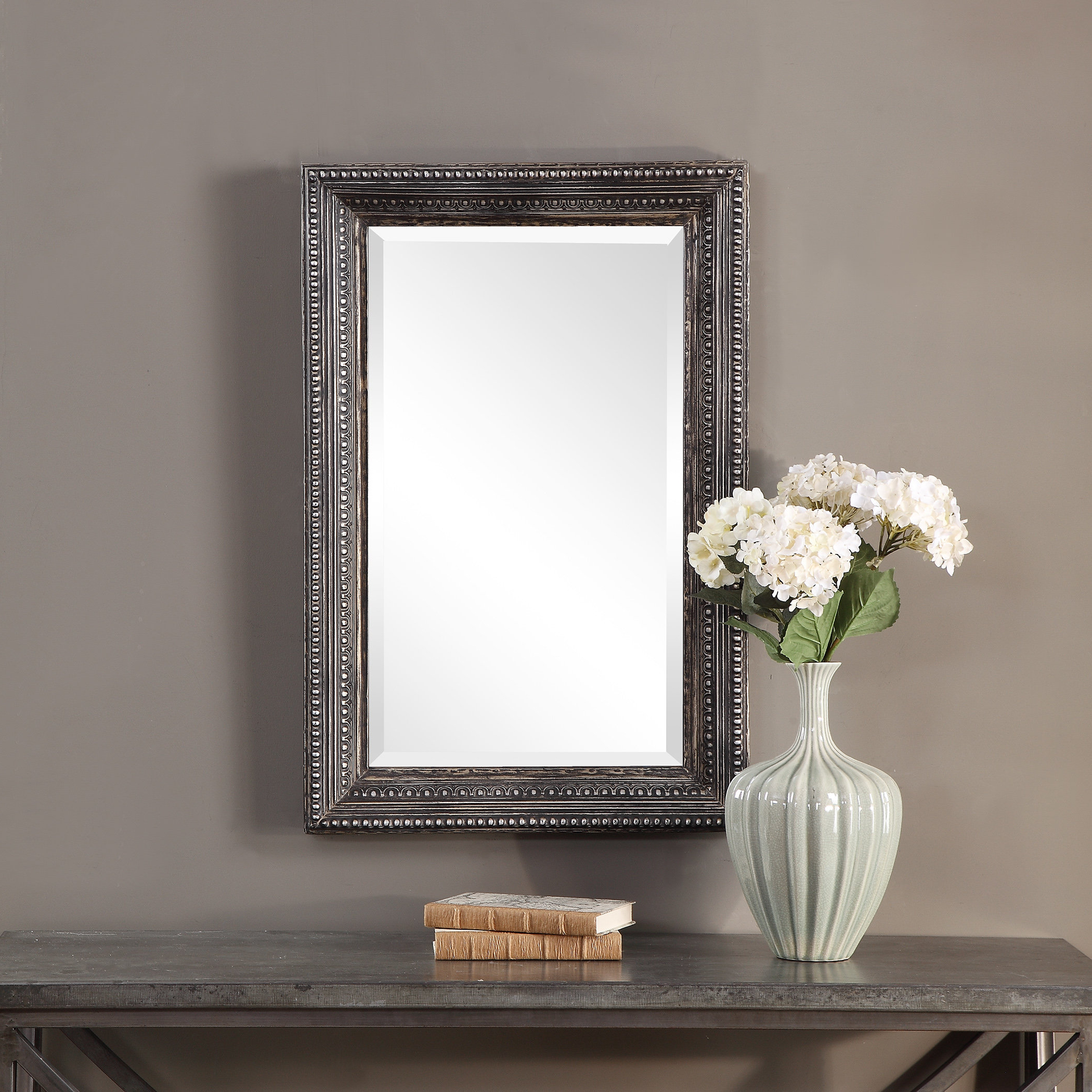 Latest Lake Park Beveled Beaded Accent Wall Mirrors In Lassen Accent Mirror (View 6 of 20)