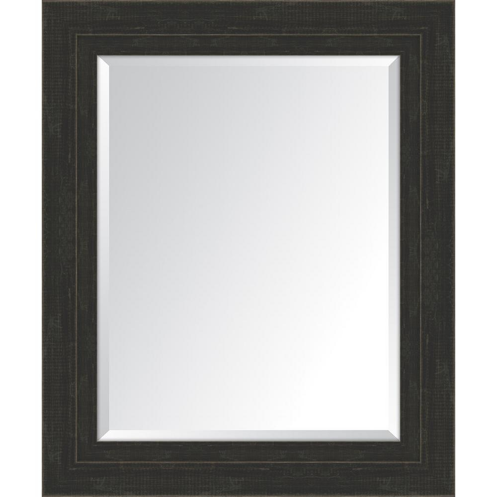 Latest Large Black Framed Wall Mirrors For 30 In. X 36 In (View 9 of 20)
