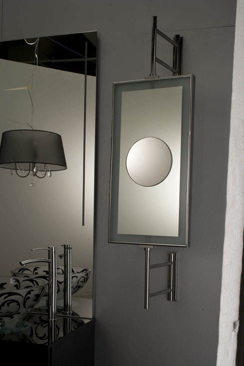Latest Magnifying Wall Mirrors Throughout Wall Mounted Bathroom Mirror / Magnifying / Contemporary (View 16 of 20)