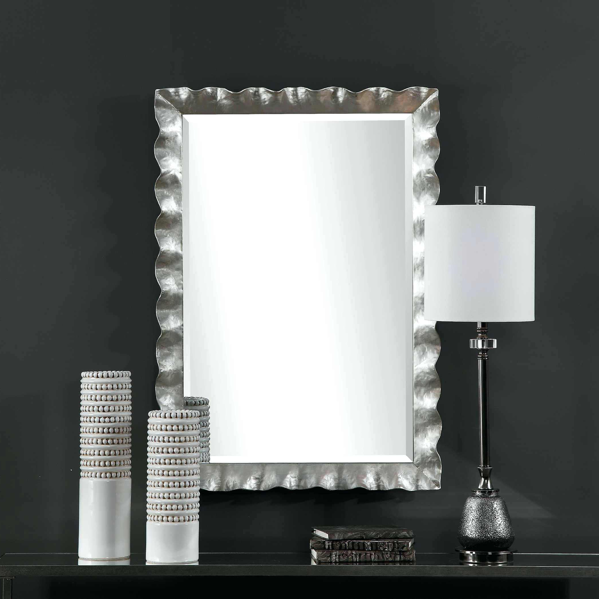 Latest Mercury Glass Wall Mirrors Intended For Large Mercury Glass Wall Mirror – Fefisbaby (View 10 of 20)