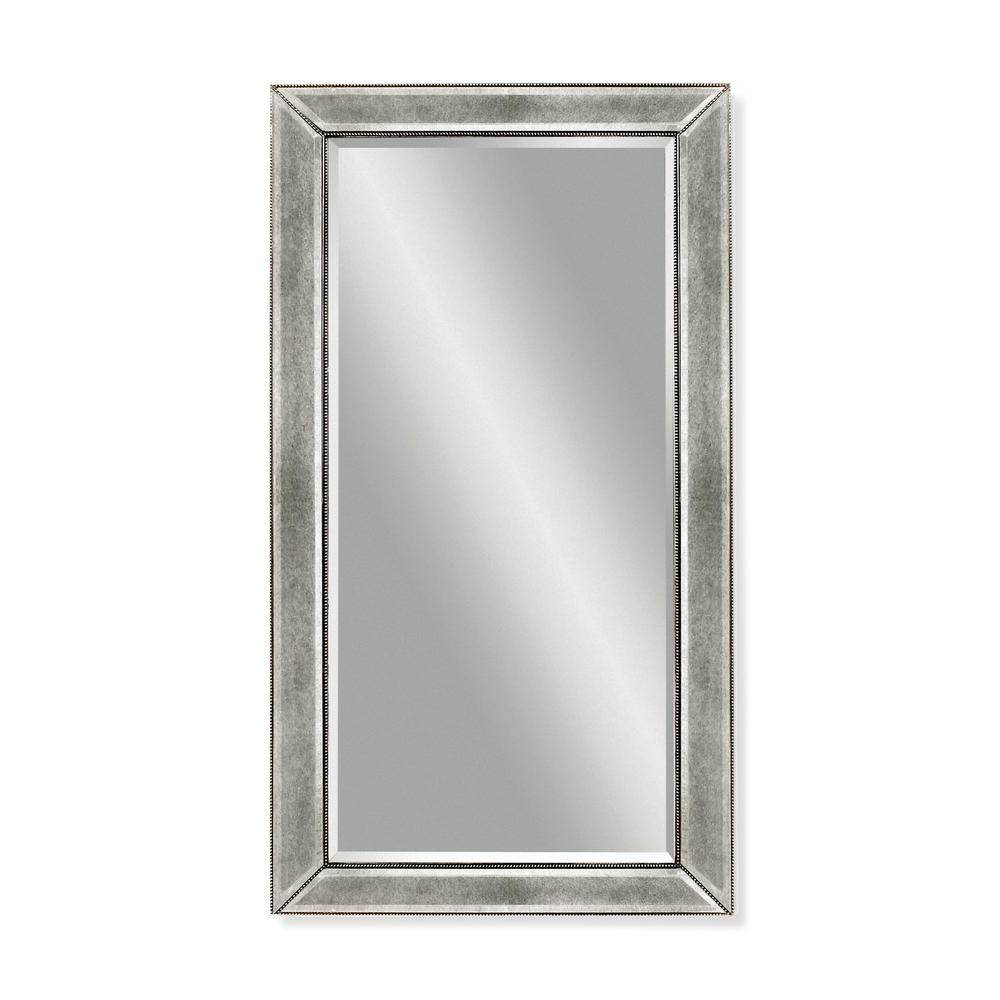 Latest Silver Beaded Wall Mirrors Regarding Beaded Decorative Wall Mirror (Gallery 18 of 20)