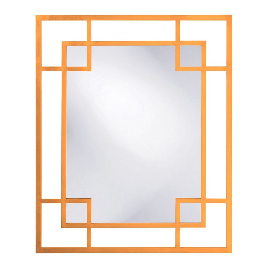 Latest Tyler Dillon Lois 53 In L X 43 In W Orange Framed Wall Mirror At In Orange Framed Wall Mirrors (View 7 of 20)
