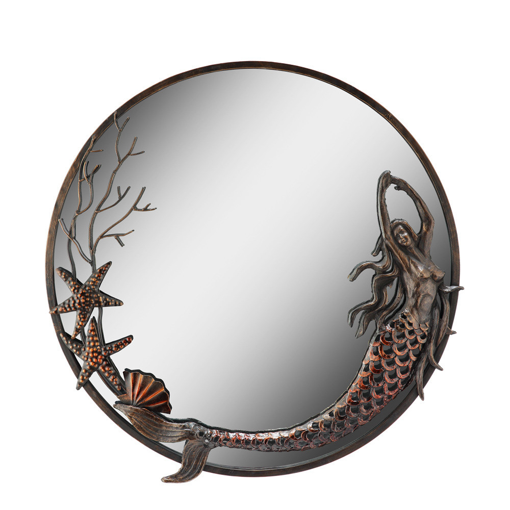 Latest Wall Mirror Sea Maiden Fantasea With Mermaid Wall Mirrors (View 4 of 20)