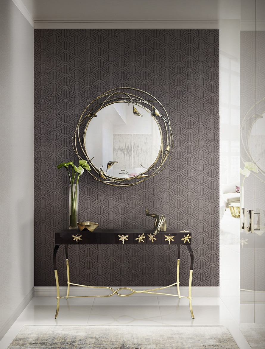Latest Wall Mirrors For Hallway Throughout How Decor Your Hallway With Unique Large Mirrors Small Traditional (Gallery 10 of 20)