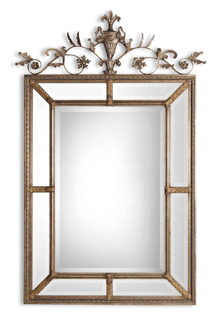 Le Vau Vertical Large Wall Mirroruttermost – 41″ X 63″ Pertaining To Favorite Wall Mirrors With Shutters (View 17 of 20)