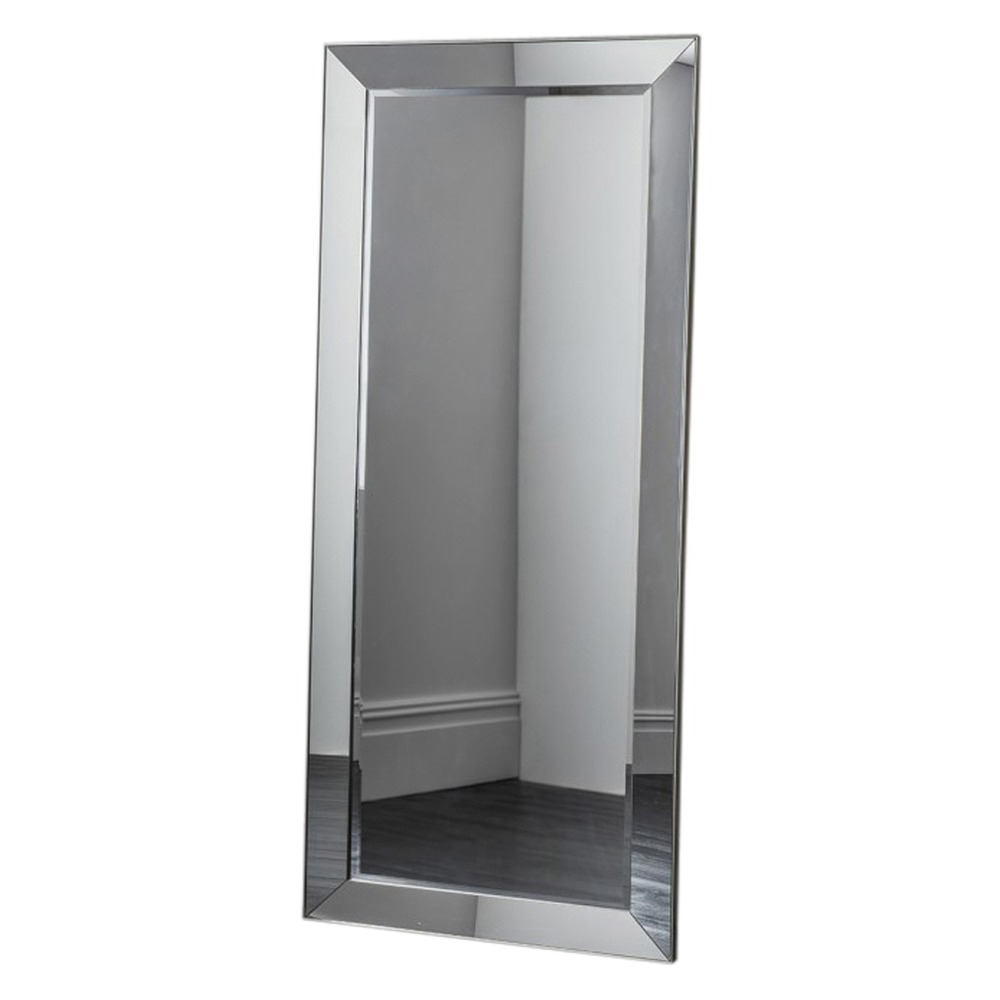 Leaning Mirrors Throughout Most Recent Bertoni Leaner Mirror All Glass Finish (View 14 of 20)