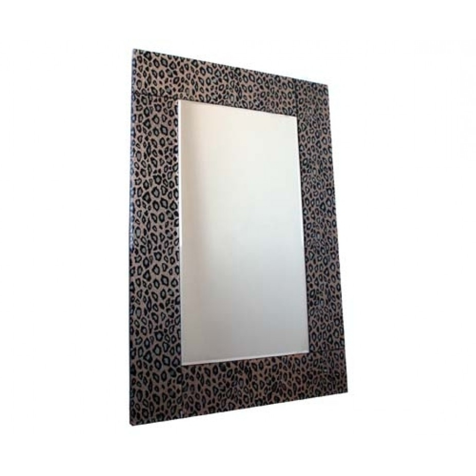 Leopard Wall Mirrors Within Famous Leopard Wall Mirror (Gallery 10 of 20)