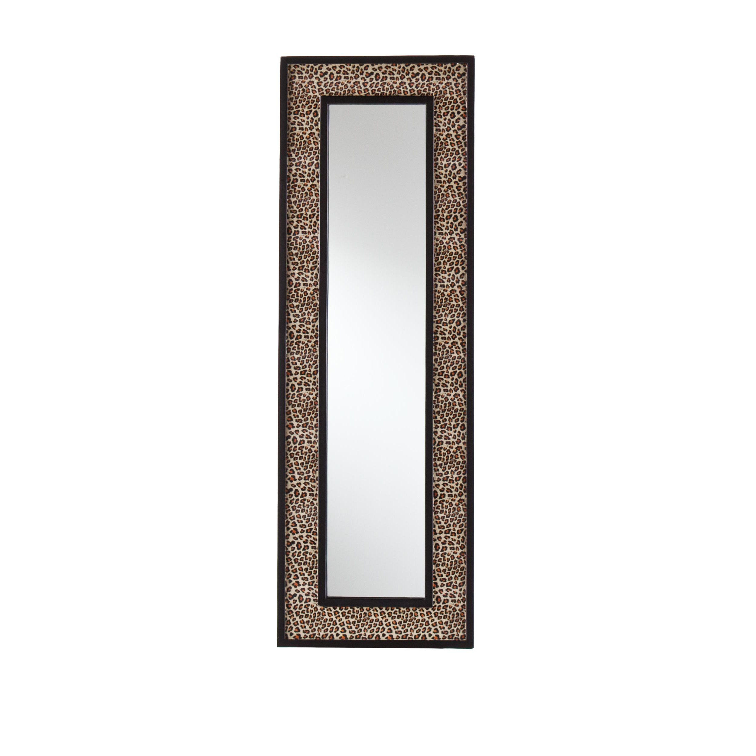 Leopard Wall Mirrors Within Widely Used Amazon: Sei Decorative Wall Art Mirror – Leopard Print – Hangs (View 12 of 20)