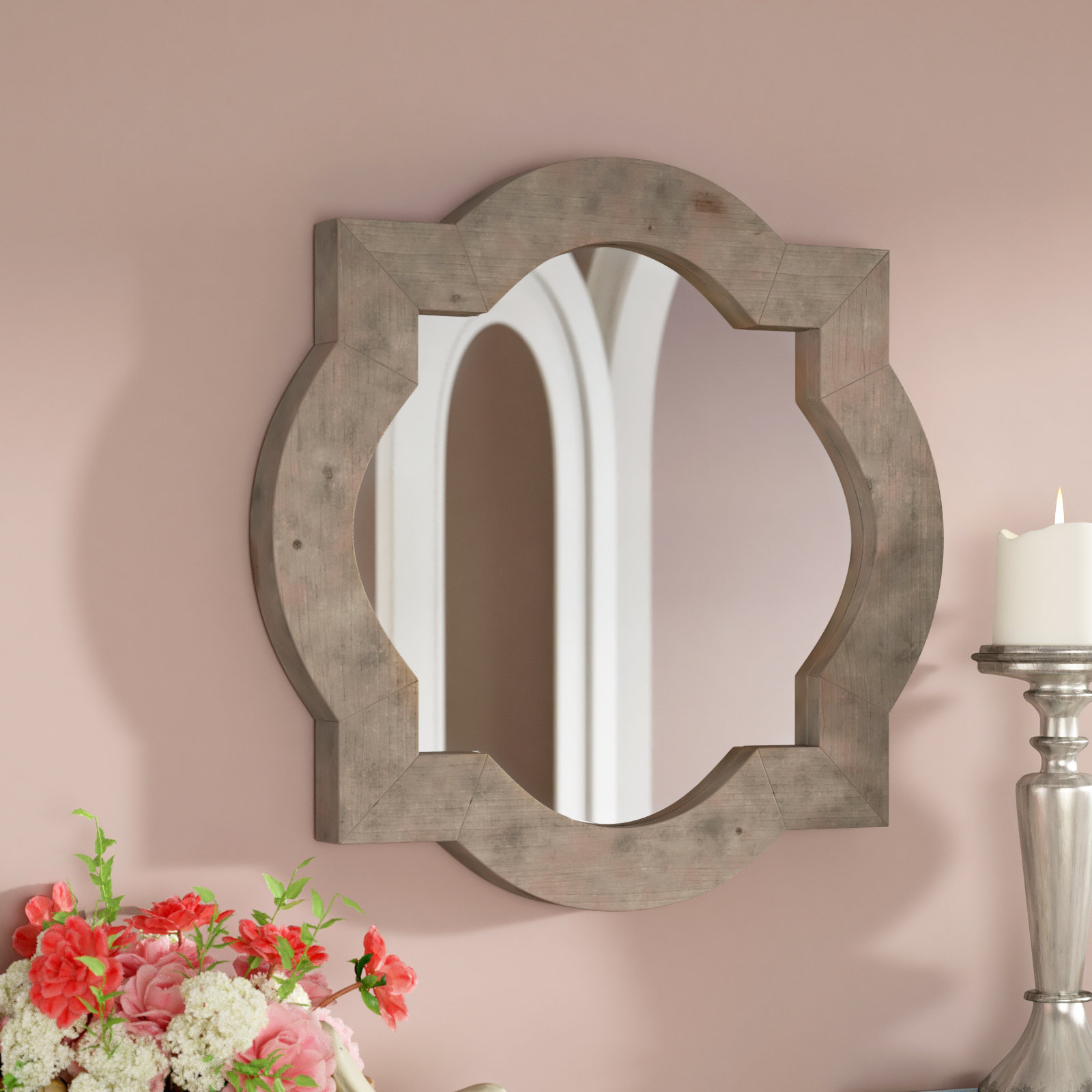 Lesperance Wall Mirror In Most Popular Padang Irregular Wood Framed Wall Mirrors (View 7 of 20)