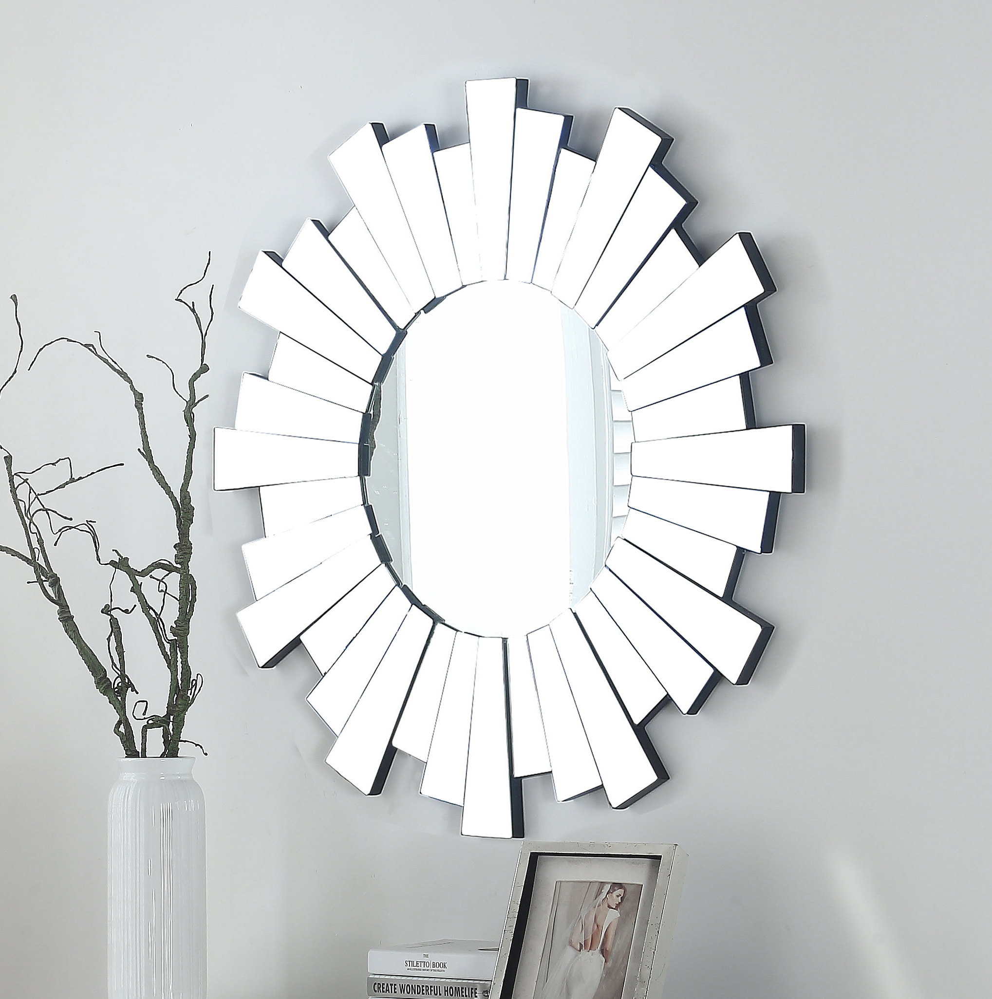 Levita Glam Beveled Accent Mirror Inside Well Liked Glam Beveled Accent Mirrors (View 5 of 20)