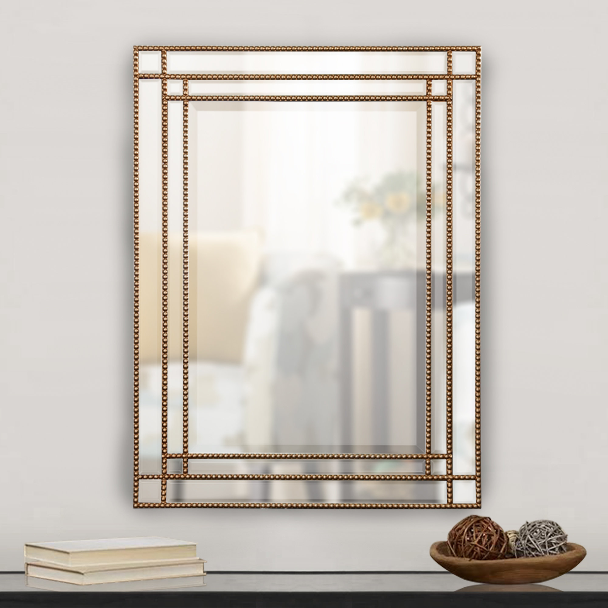 Liberty Street Beaded Wall Mirror With Regard To Best And Newest Beaded Wall Mirrors (Gallery 19 of 20)